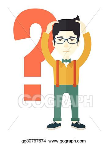 Businessman clipart businessman chinese. Vector art with a
