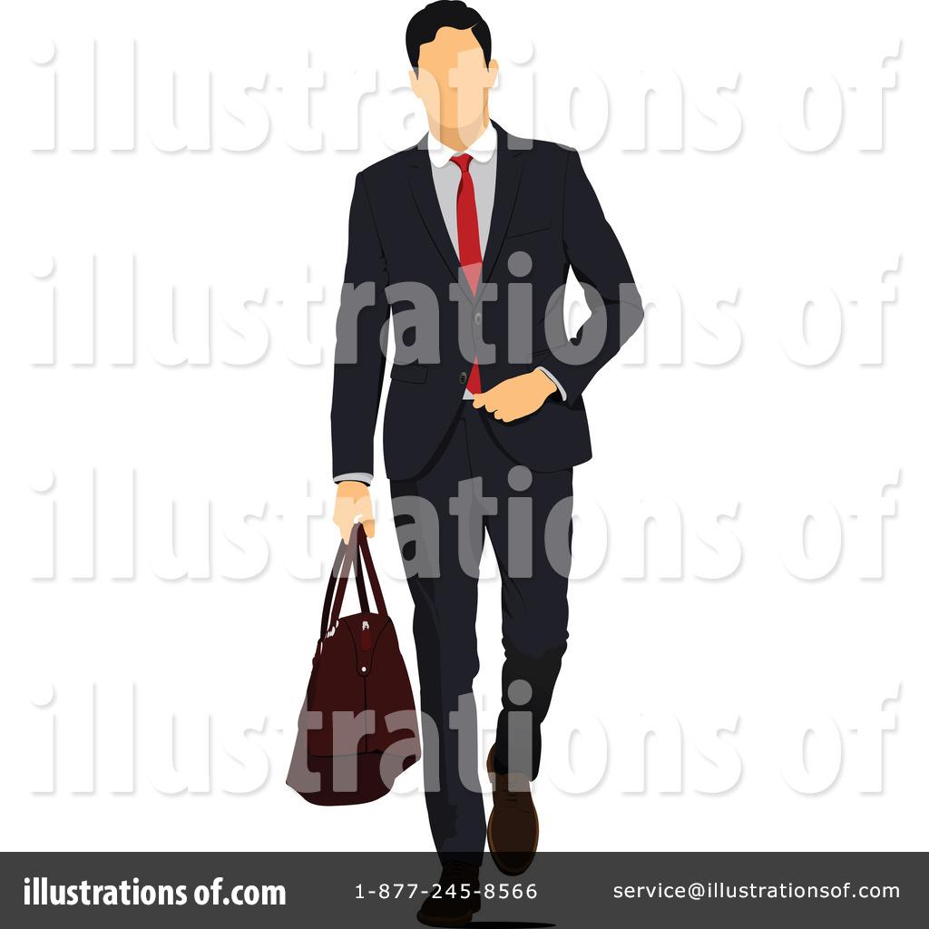 Businessman clipart illustration. By leonid royaltyfree rf