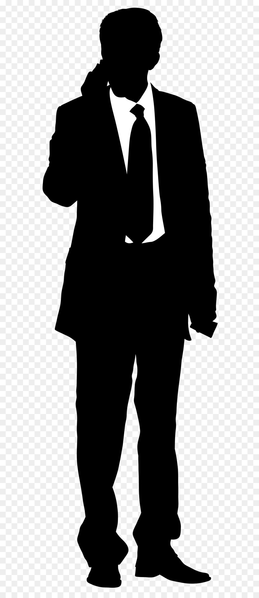 Businessman clipart silhouette. Scalable vector graphics clip