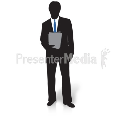 Files presentation great for. Businessman clipart silhouette