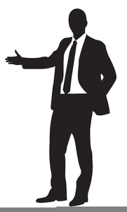Businessman clipart silhouette. Free images at clker