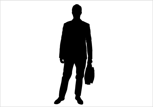 Business at getdrawings com. Businessman clipart silhouette
