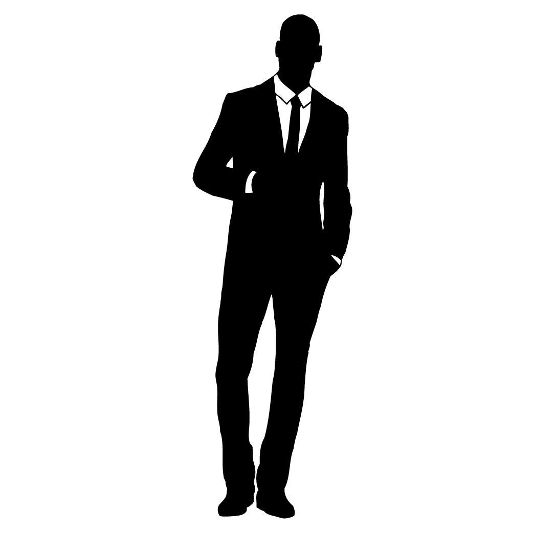Businessman clipart silhouette. Silhouettes clip art