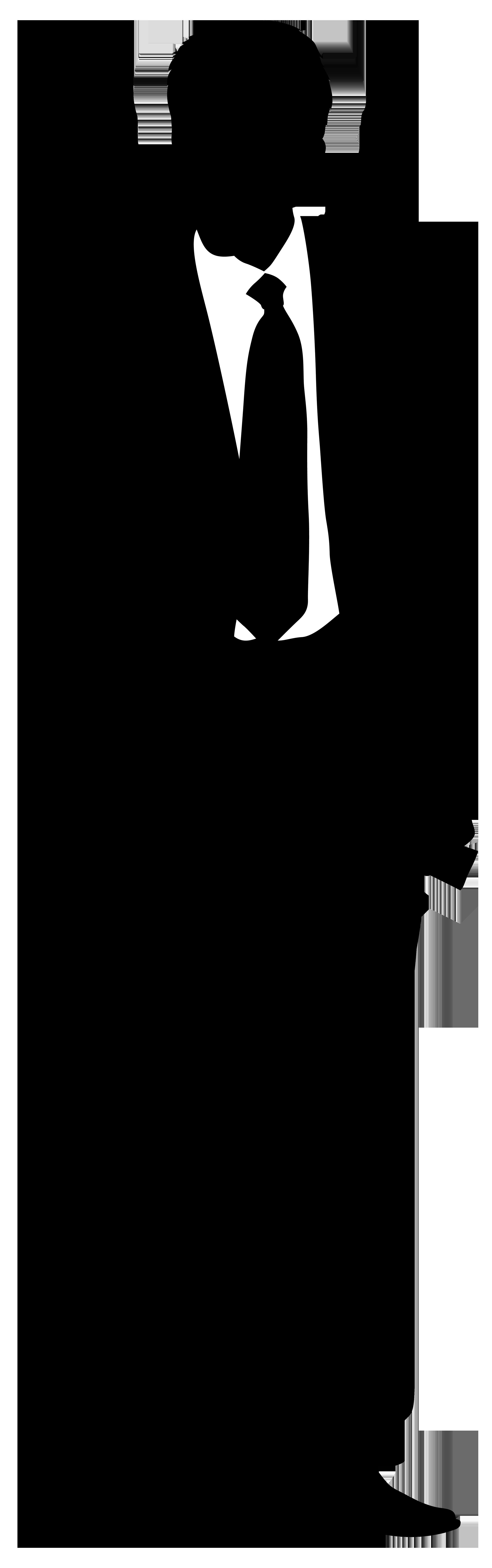 Silhouette png clip art. Businessman clipart transparent background