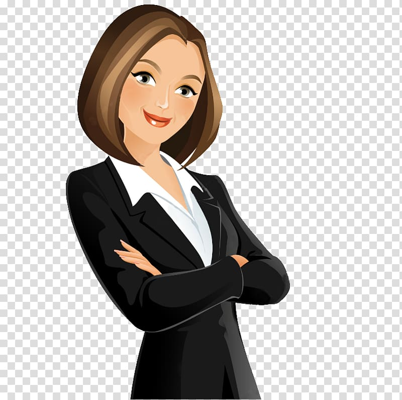 Lady clipart executive. Woman wearing attire illustration