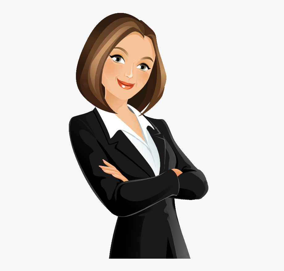 Woman images png cartoon. Businesswoman clipart
