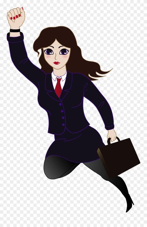 Business women clip art. Lady clipart professional woman