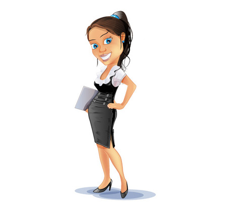 Free businesswoman cliparts download. Female clipart career woman