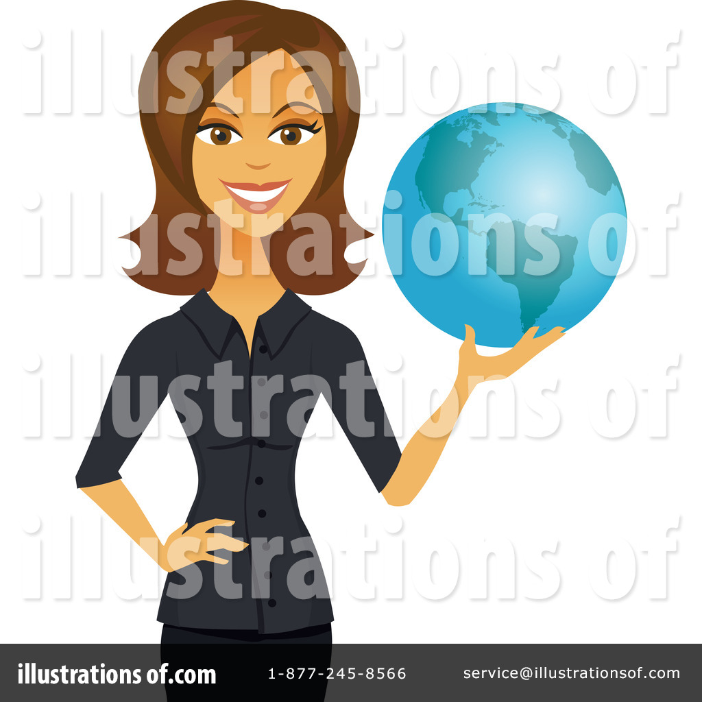 Illustration by amanda kate. Businesswoman clipart african american