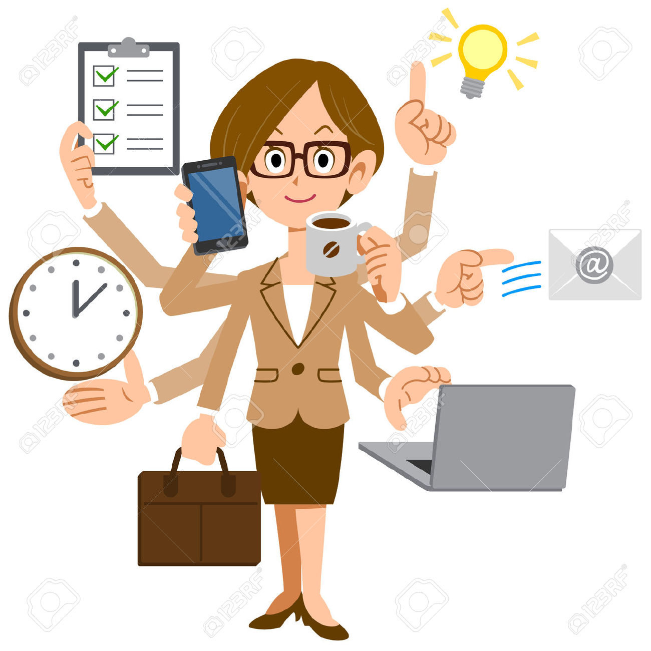 Working clipart busy schedule. Secretary cliparts free download