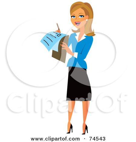 Businesswoman female marketing manager