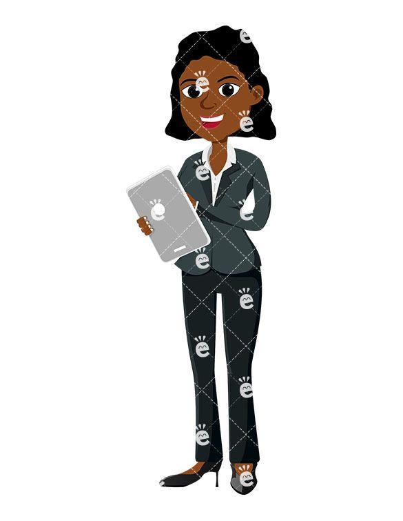 Pin on of women. Businesswoman clipart modern woman