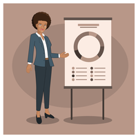 Business woman free vector. Businesswoman clipart mujer