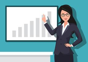 Businesswoman clipart mujer. Business woman free vector