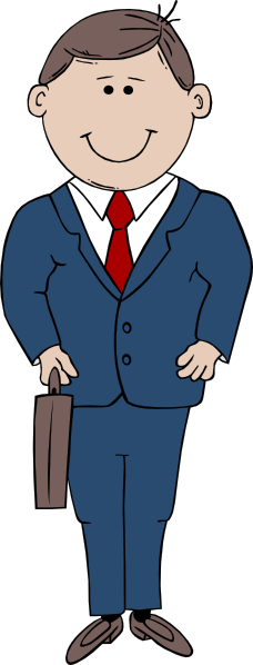 Professional clipart one man. Office clip art audio