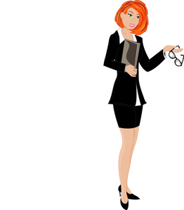 Businesswoman clipart person. People
