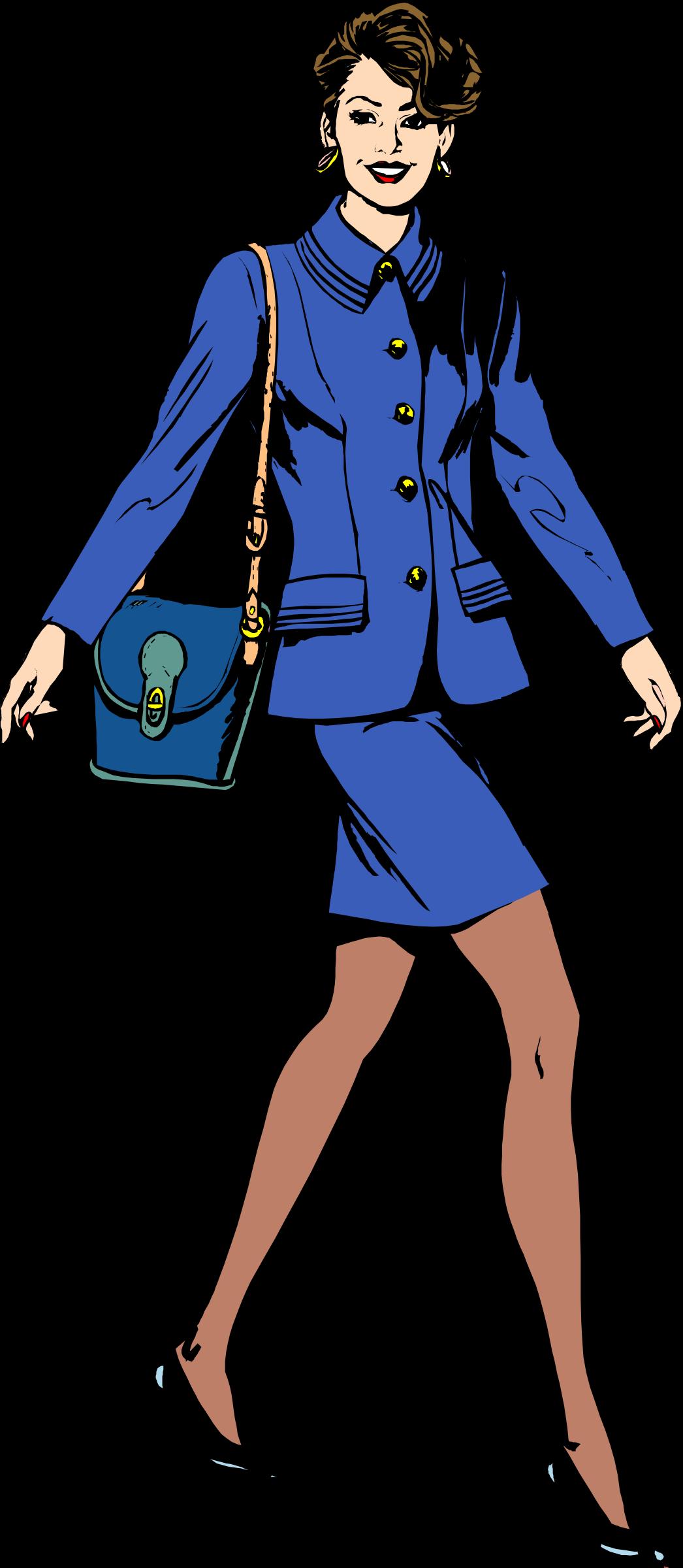 Businesswoman clipart person. Business woman big image