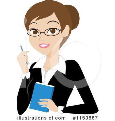 Illustration by rosie piter. Businesswoman clipart person