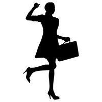 At getdrawings com free. Businesswoman clipart silhouette