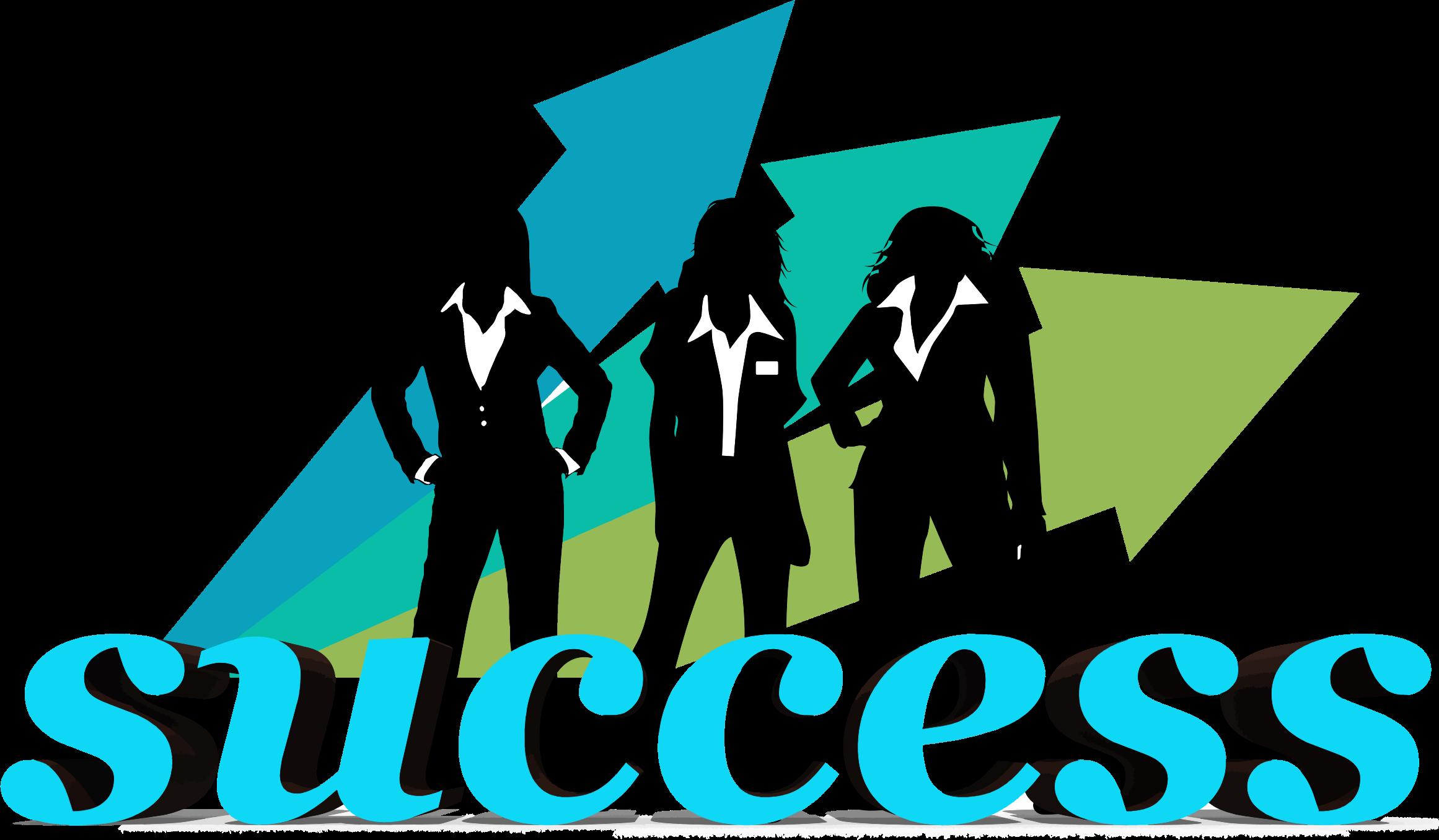 Three businesswomen big image. Businesswoman clipart success woman