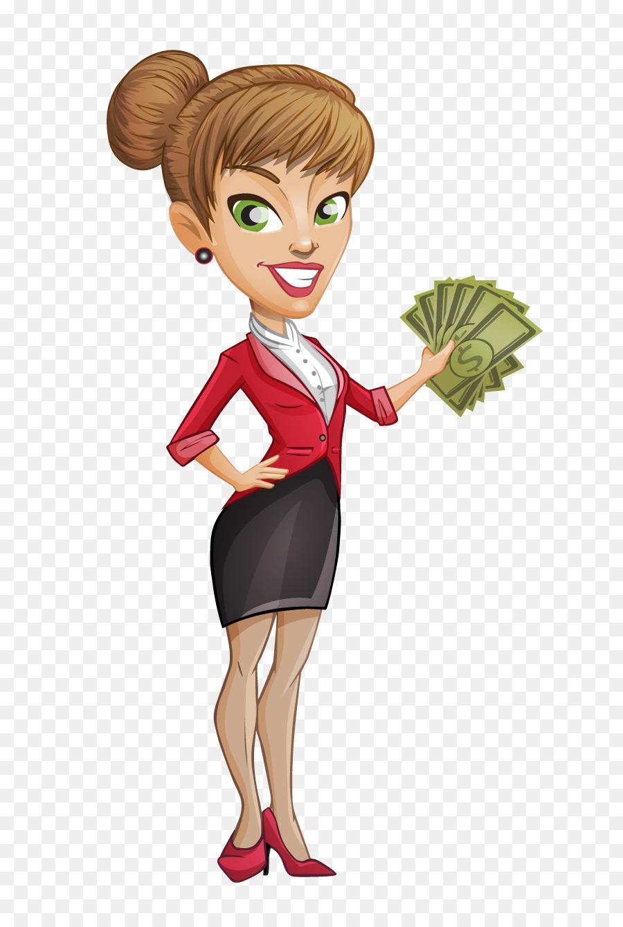 Businesswoman clipart transparent. Payday loan hard money
