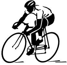 Steren bike rider clip. Butt clipart cycling