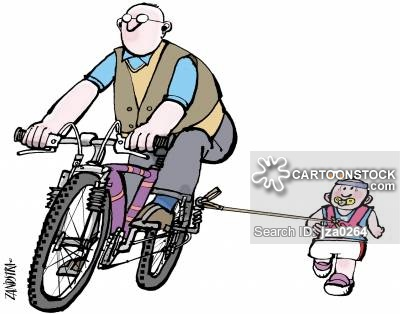 Butt clipart cycling. Bike riding cartoons and
