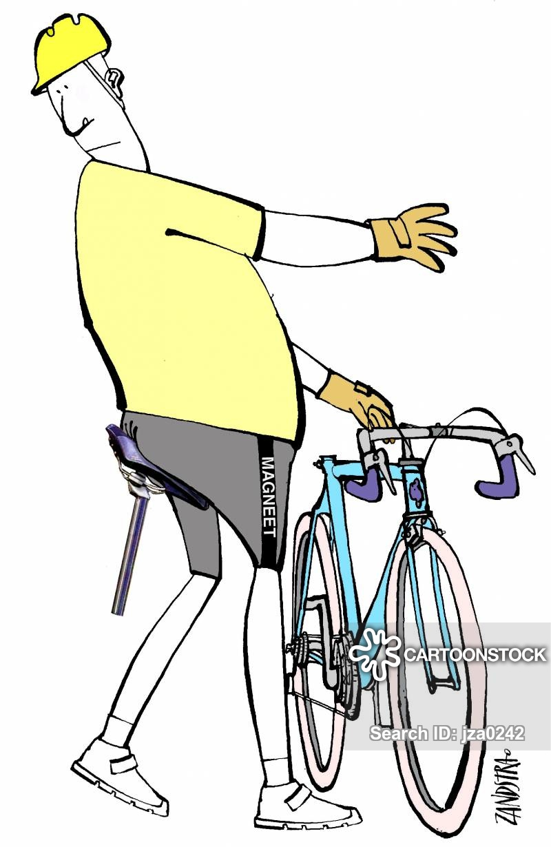 Riding bikes cartoons and. Butt clipart cycling