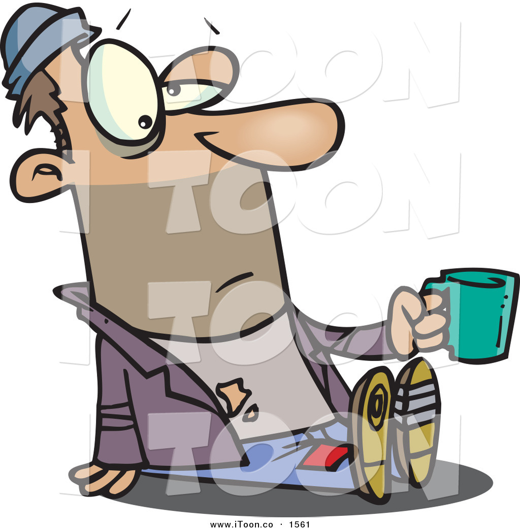 Poverty clipart begging bowl. Bum panda free images