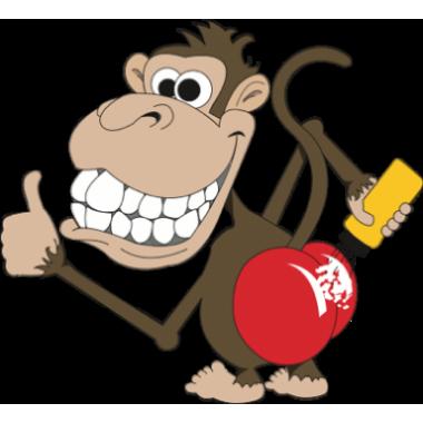 Anti monkey original powder. Butt clipart ladys