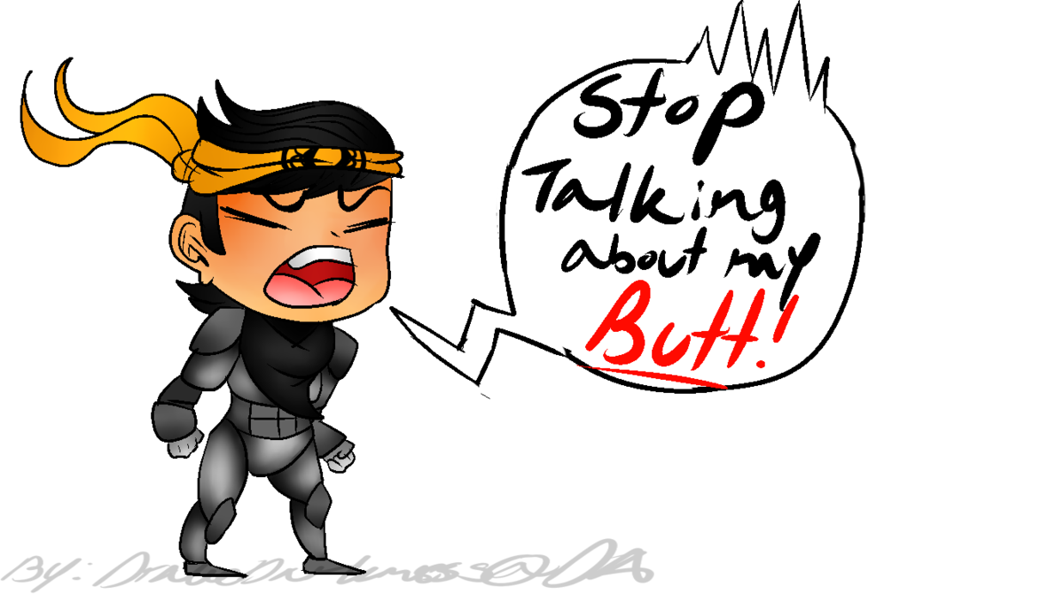 Takeda s by drakedarkness. Butt clipart poor person