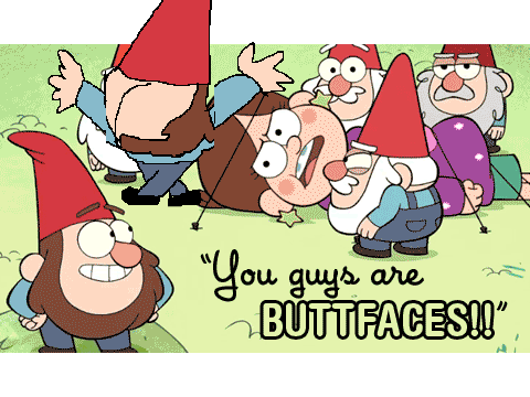 Butt clipart scratch. You guys are faces