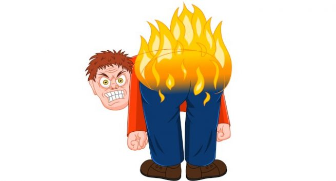 Butt clipart sore. Do this to prevent