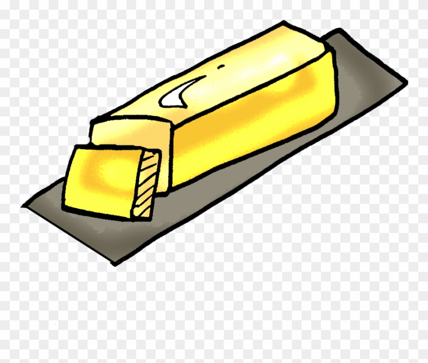 Butter clipart. Stick outline png