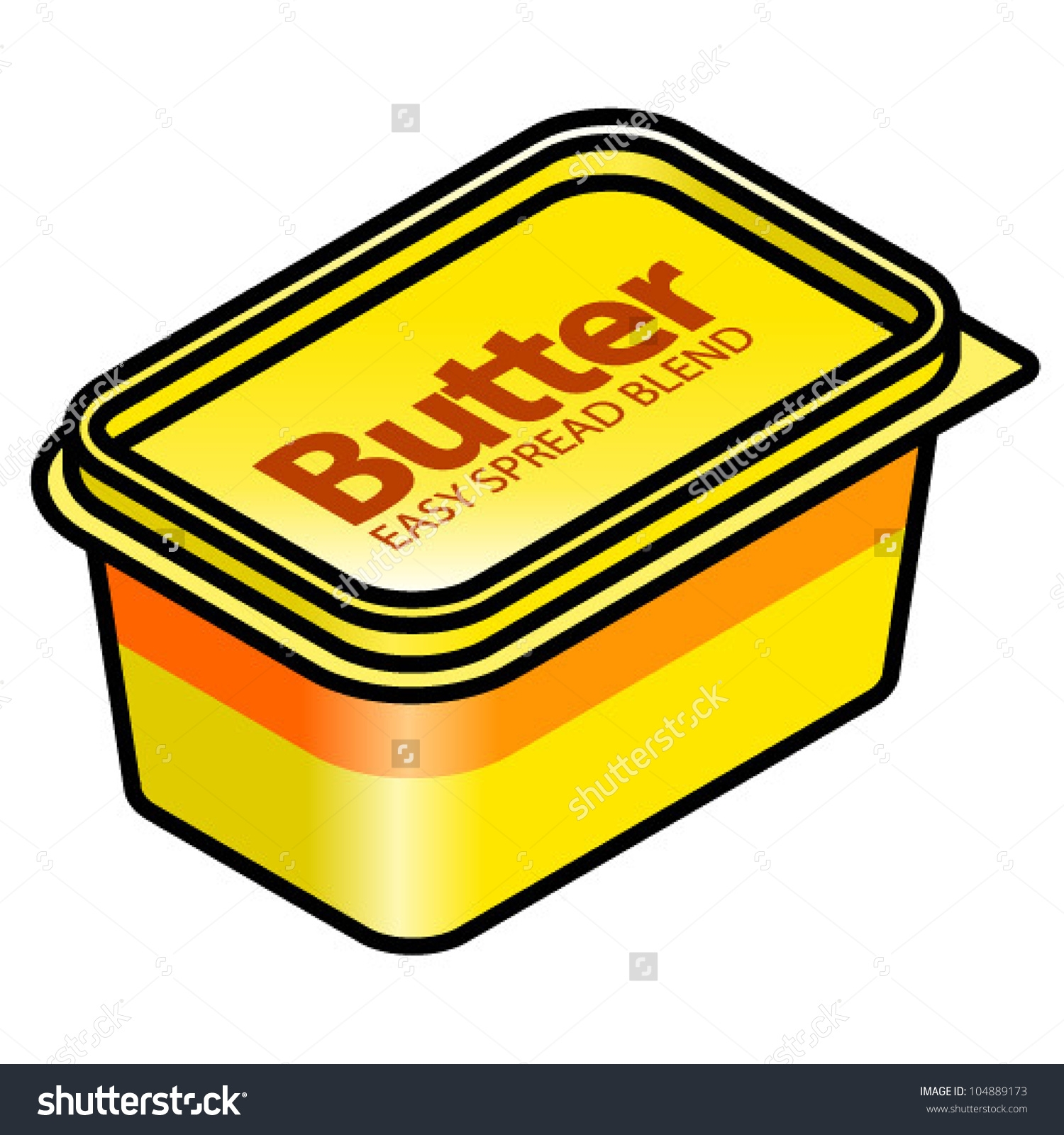 Unique gallery digital collection. Butter clipart