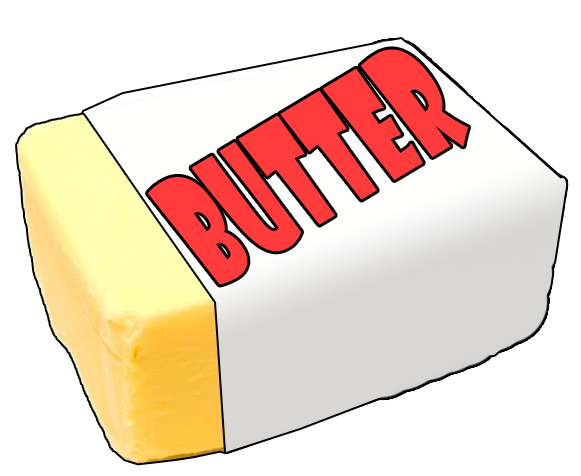 Download free png photo. Butter clipart buter