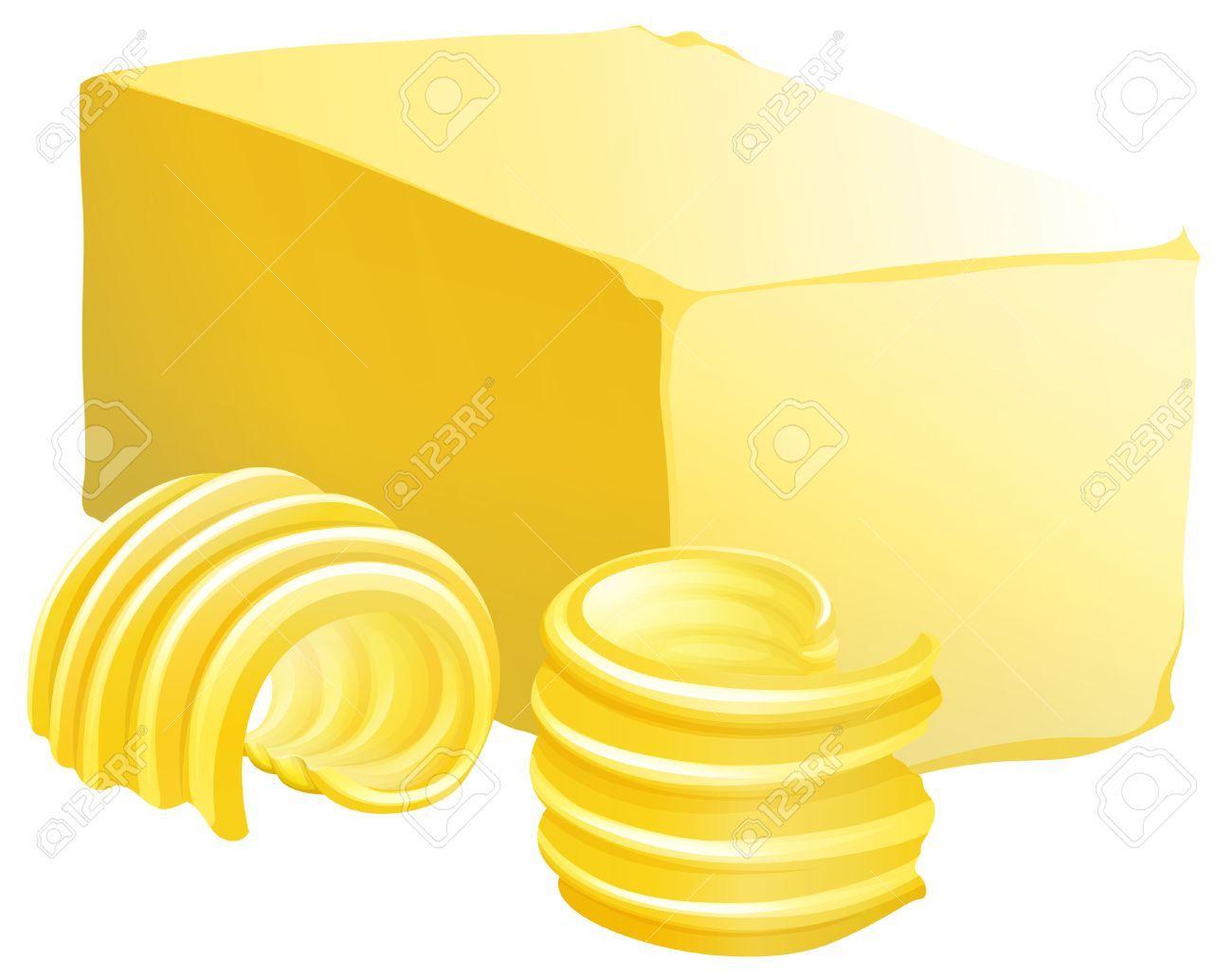 Portal . Butter clipart buter