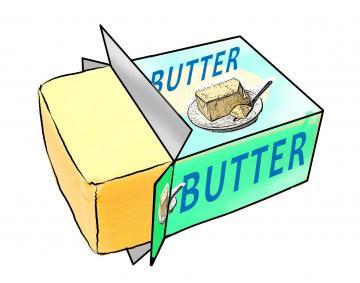 Butter butter stick