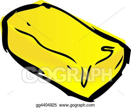 Butter clipart cartoon. Drawing pat of gg