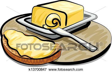 Butter clipart cartoon. Clip art music of