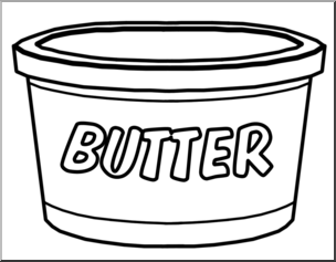 Butter clipart coloring, Butter coloring Transparent FREE ...