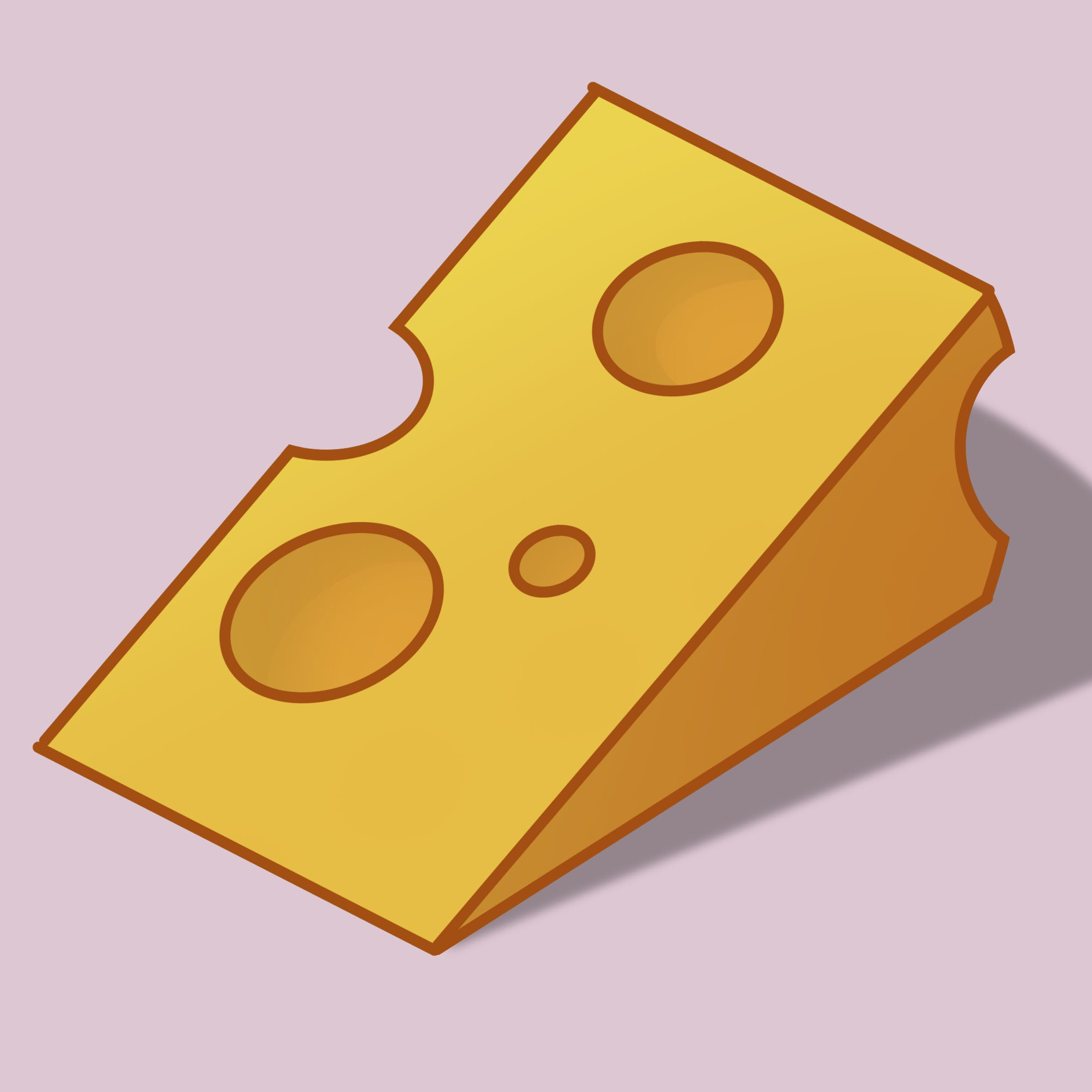 Cheese clipart drawing. How to draw a