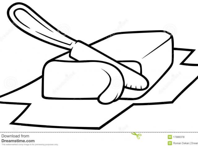 Butter clipart draw, Butter draw Transparent FREE for ...