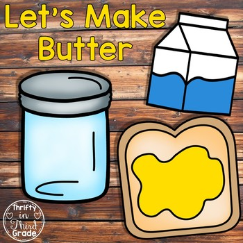Making activities by thrifty. Butter clipart grade a