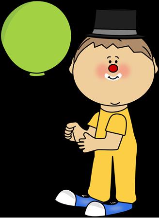 Circus clipart kid. Clown clip art image