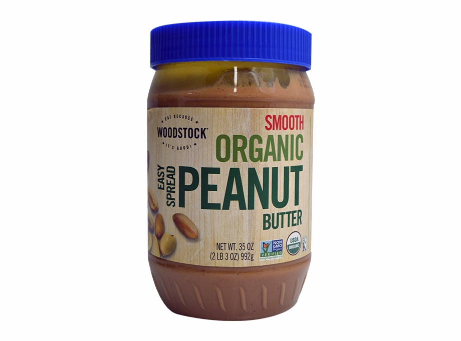 Woodstock farms peanut easy. Butter clipart smooth