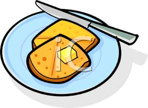 Buttered royalty free picture. Butter clipart toast butter