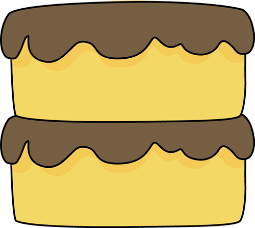 Cake clip art image. Butter clipart yellow food