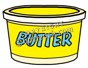 Butter clipart yellow food. Clip art containers panda
