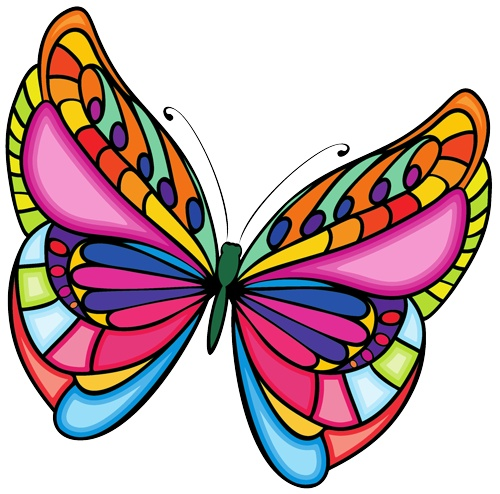 Clip art free download. Clipart butterfly